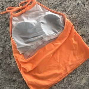 Kortni Jeane Swim - Kortni Jeane Orange High Rise Top